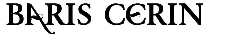 Baris Cerin font