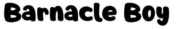 Barnacle Boy font