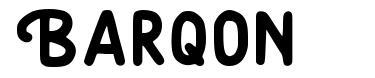 Barqon font