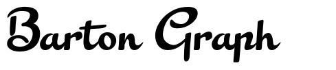 Barton Graph шрифт