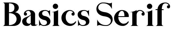 Basics Serif