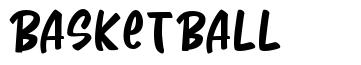 Basketball font