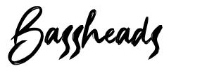 Bassheads font