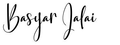 Basyar Jalai font