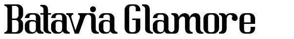 Batavia Glamore font