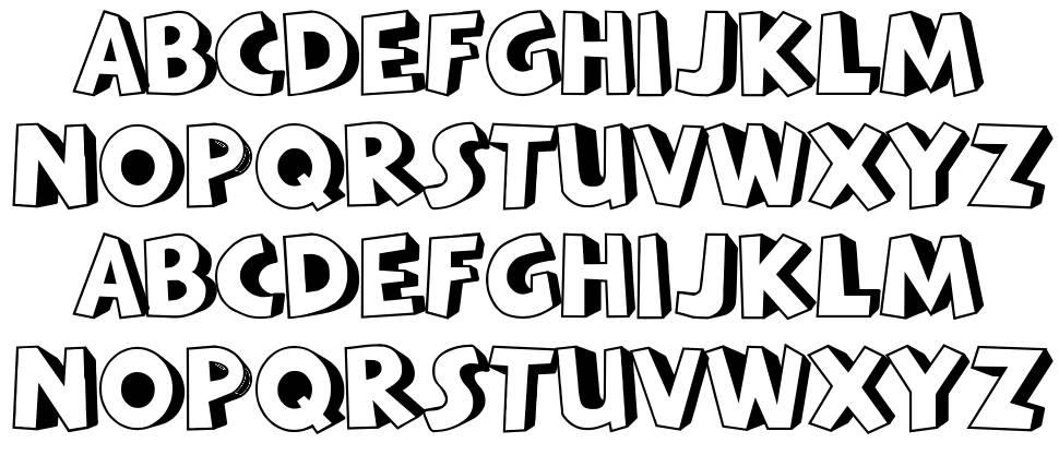 Batavia Kota font