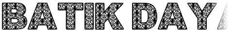 Batik Dayak Font
