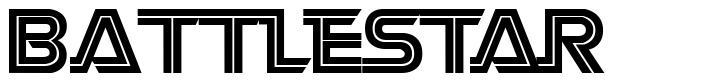 Battlestar font