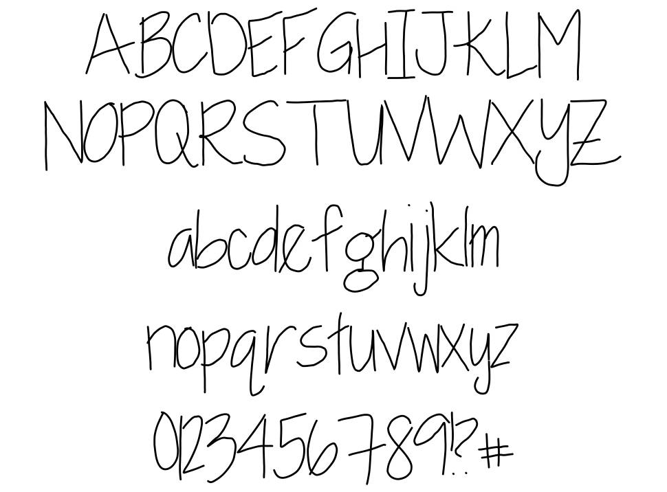 Baxter and Layla font