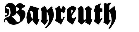 Bayreuth font