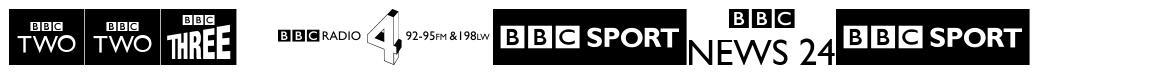 BBC logos schriftart