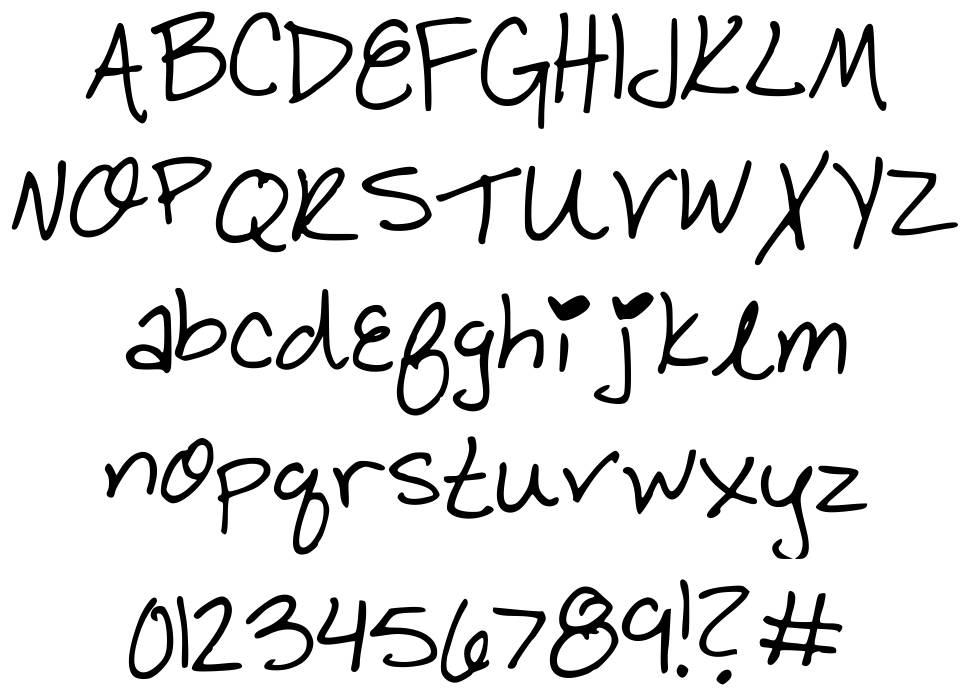 BBY Cakes! font