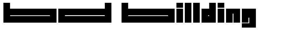 BD Billding font