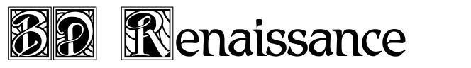 BD Renaissance font