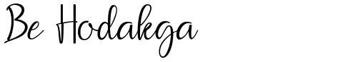 Be Hodakga