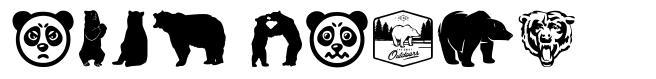 Bear Icons font