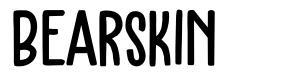 Bearskin шрифт
