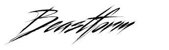 Beastform font