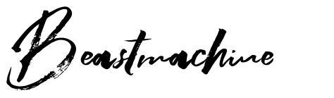 Beastmachine font