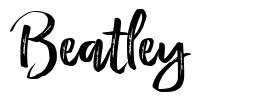 Beatley font