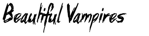 Beautiful Vampires