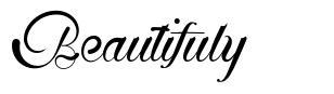Beautifuly font