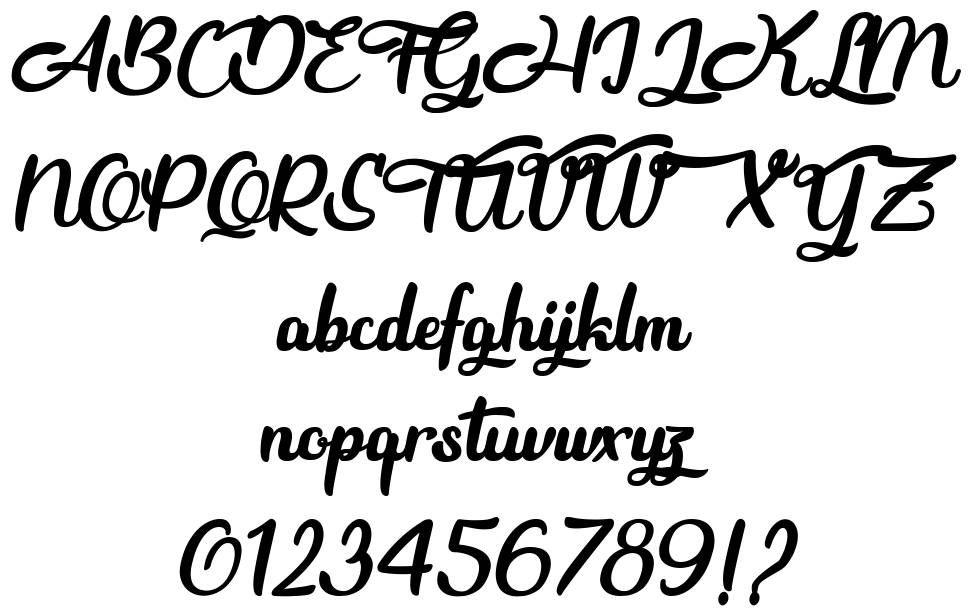 Beauty and the Dutch font