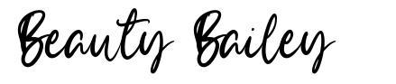 Beauty Bailey