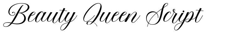 Beauty Queen Script
