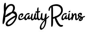BeautyRains font