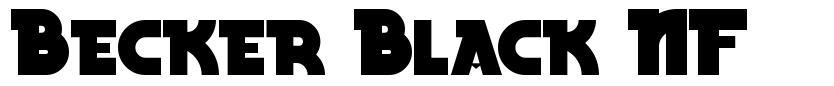 Becker Black NF