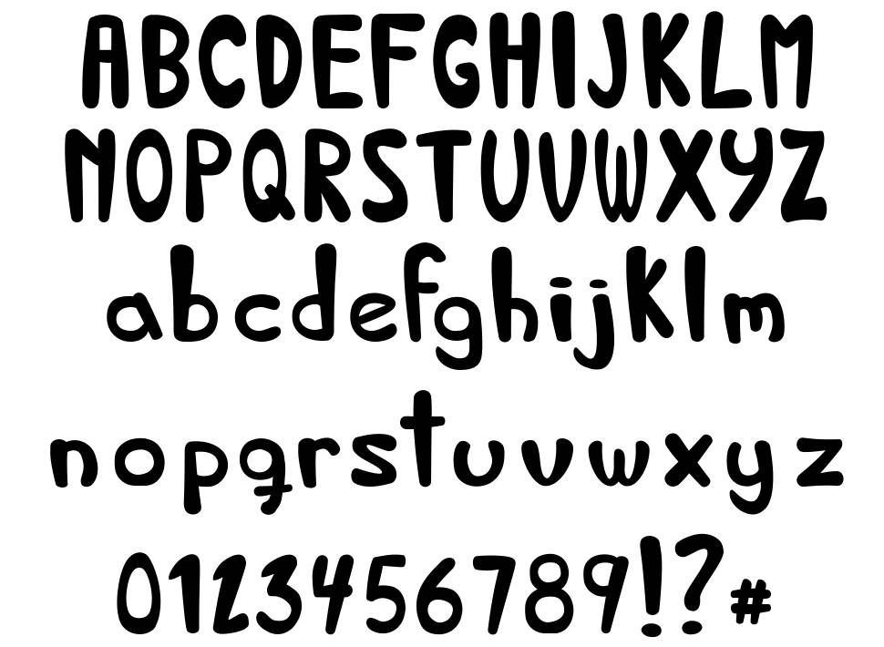 Bed and Breakfast font