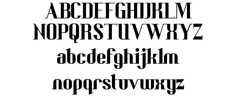 Bedric's Worth font