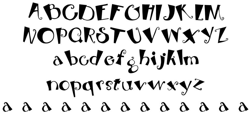 Beebop font