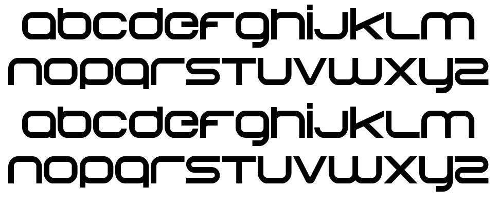 Begok font