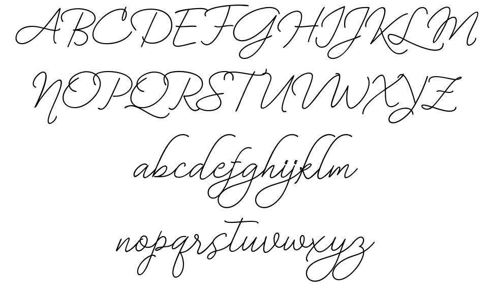 Bekafonte písmo