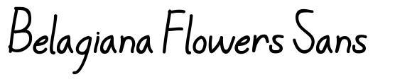 Belagiana Flowers Sans