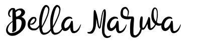Bella Marwa font