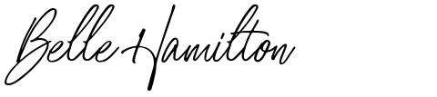 Belle Hamilton