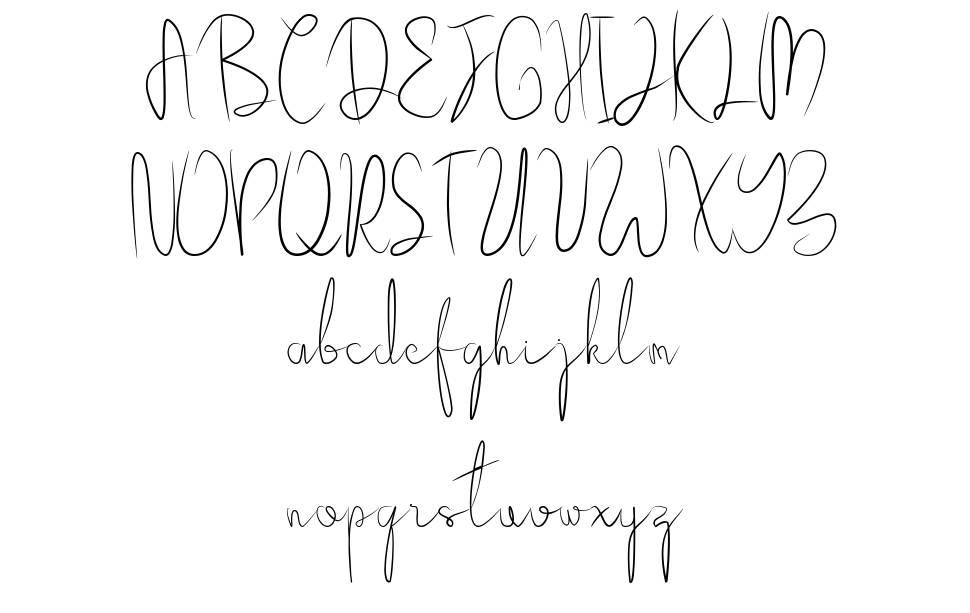 Bellgia шрифт