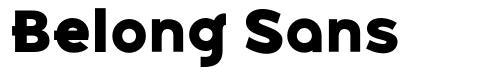 Belong Sans