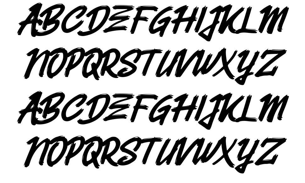 Belvana font