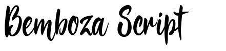 Bemboza Script