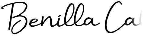 Benilla Calligraphy