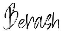 Berash