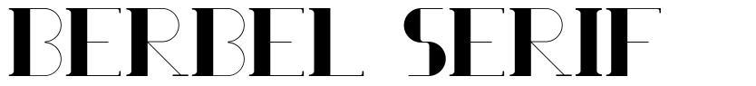 Berbel Serif