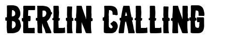 Berlin Calling フォント