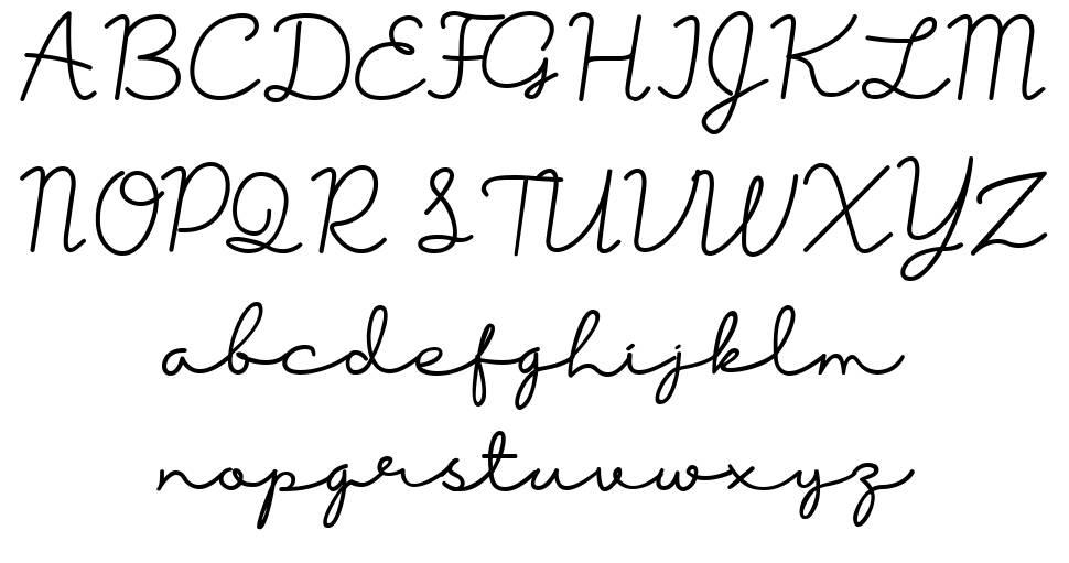 Bersama font