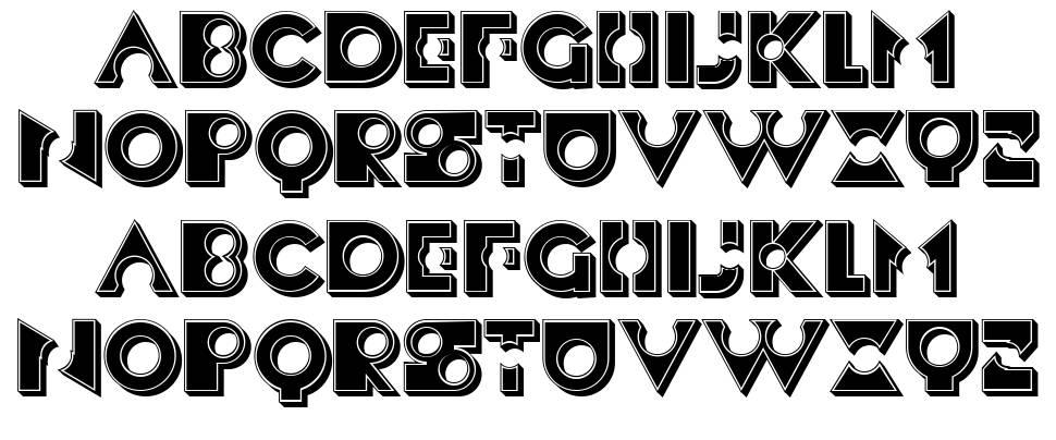 Besad font