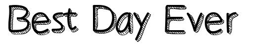 Best Day Ever font